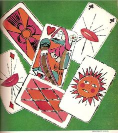 Playing Cards by Andy Warhol