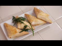 Spanakopita (Triangles) - YouTube