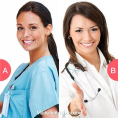 Would you rather be a nurse or a doctor? Click here to vote @ http://getwishboneapp.com/share/1441405