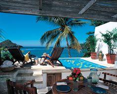 Love Mexican coastal architecture.