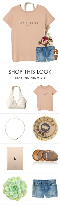 """""""I'm a rebel just for kicks"""" by mac-moses ❤ liked on Polyvore featuring Hollister Co., MANGO, Ela Rae, Kate Spade, ANNA by RabLabs, WALL, Gap and Birkenstock"""