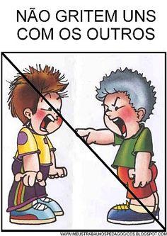 REGRAS DE CONVIVÊNCIA PARA MATERNAL DO PROJETO BOAS MANEIRAS