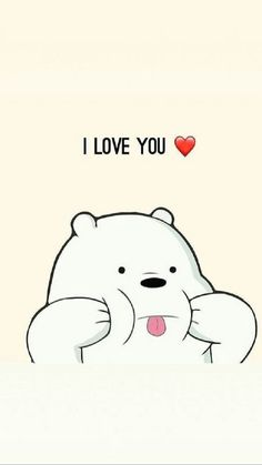 I Love You We Bare Bears Wallpapers Ice Bear We Bare with regard to We Bare Bears Wallpaper Quotes - Find your Favorite Wallpapers! Mobile Wallpaper, Tier Wallpaper, Emoji Wallpaper, Kawaii Wallpaper, Cute Wallpaper Backgrounds, Wallpaper Iphone Cute, Animal Wallpaper, Colorful Wallpaper, Wallpaper Quotes