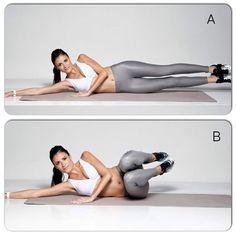 Quem faz esse exercício? Clique o seu movimento preferido para definir o abdômen e use a hashtag #atitudeboaforma!