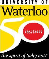 50 Years of University of Waterloo (Canada)