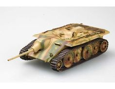 Model of Entwicklungsfahrzeug E10  a cheap to produce tank destroyer in the 10-25tons class Said to have been designed by the Klockner-Humboldt-Deutz Magirus AG firm in Ulm, the E-10 project was developed as a replacement of the Panzer 38(t) and the designs based on it.Weight 15tons Speed;45mph range:205mi armour;50mm