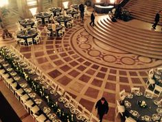San Francisco City Hall Wedding Reception