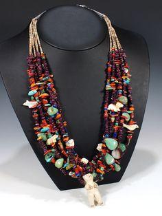 Daniel Coriz Multi strand necklace. Santo Domingo