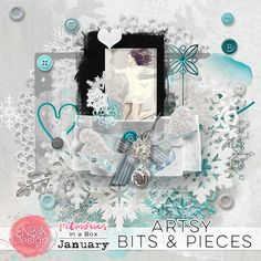 January{Artsy Bits and Pieces} | NBK Design