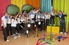 Orquestra de Brinquedos de Lisboa se apresenta na Paulista aberta