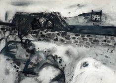 Elizabeth Blackadder scottish artist charcoal and watercolour for sale Artist Sketchbook, Painter Artist, Sense Of Place, Drawing Techniques, Art Fair, Landscape Art, Art Projects, Blondes, Blackadder Quotes