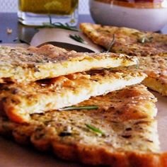 "Italian Chickpea Bread I ""This is an excellent recipe. I've made for a pizza crust too."""