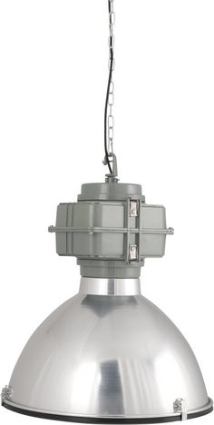 Zuiver Vic industry - Hanglamp - Chroom