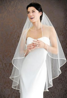 Types of the Wedding Veil Cuts | WeddingElation