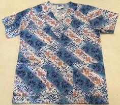 583ba197714 Scrub Wear Multi-Color with Flowers #ScrubWear Scrubs, Medical, Medical  Doctor,
