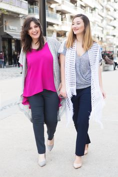 #happy #girls #smile #sexy #curvy #shopping #love #fashion #woman #style #ss16 Woman Style, Happy Girls, Ss16, Campaign, Capri Pants, Curvy, Ruffle Blouse, Smile, Shopping