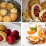 Galuste cu prune, caise, nectarine, visine sau capsuni (gomboti) Eggs, Breakfast, Morning Coffee, Egg, Egg As Food
