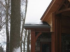 Pictures of Roof and Gutter Ice Melt System Installations. Southern Wisconsin's Source for Roof and Gutter Ice Dam Prevention Products. Ice Dams, New England, Wisconsin, Photo Galleries, Garage, Construction, Gallery, Spring, Building