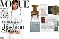 Bodo Sperlein Vogue Germany Nikko Macaroon Spoons  http://www.bodosperlein.com  #Nikko #Spoons #TeaSpoon #Cloud #BodoSperlein #Colour #Vogue #VogueGermany #VogueDeutsch #Tableware