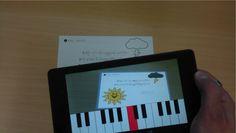 Crea y aprende con Laura: Augmented Songbook. App de Realidad Aumentada para facilitar el aprendizaje musical infantil