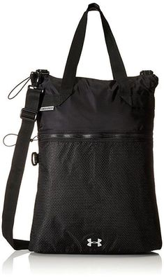 Under Armour Womens Multi-Tasker Storm 1 Tote Black 1277405-001 NEW! Under  ArmourFashion BackpackTravel ... 8d844ddb263f2