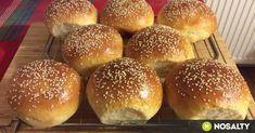 Naan, Hamburger, Winter Food, Bagel, Cake Recipes, Grilling, Food And Drink, Yummy Food, Bread