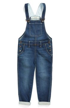 Joe's Woven French Terry Overalls (Toddler Girls & Little Girls) available at #Nordstrom