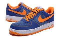 Nike Air Force 1 07 PE Jeremy Lin Royal Blue Orange