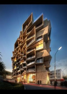 """the World Architecture Festival's Winning Residential Proposal: """"Terasa 153 Montenegro"""" by Sanjay Puri Architects."""