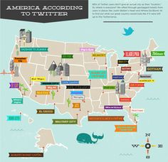 Infographic | Twitter Cities According to Twitter