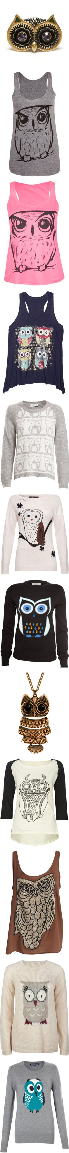 """""""Owl"""" by melodynov3rd ❤ liked on Polyvore......OMG!!!!!"""