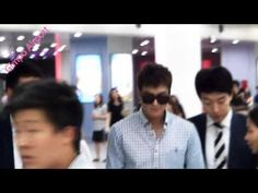 The Imaginary World of Monika: Lee Min Ho at Gimpo Airport from Jeju - 20.06.2013