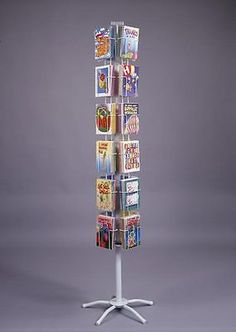 Greeting Card Rack Display 24pk Counter 5x7 THE BEST!! MADE IN USA