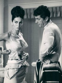 honey-rider:    Daliah Lavi and Dean Martin from the first Matt Helm Silencers 1966