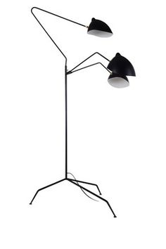HauteLook | Iconic Mod Furniture By Control Brand: Holstebro Black Floor Lamp