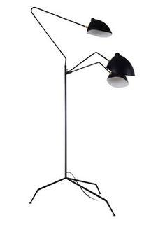 HauteLook | Iconic Mod Furniture By Control Brand: Holstebro Black Floor Lamp