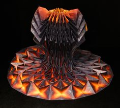 Origami dresses by Jule Waibel designed for Bershka stores in 25 cities