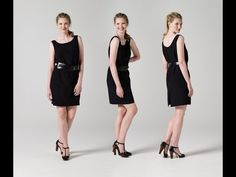How to Make a Little Black Dress | Teach Me Fashion - YouTube. Our newest sewing video tutorial! #teachmefashion