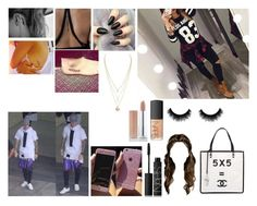 """""""Picking justin up from the airport"""" by iloveyouflower ❤ liked on Polyvore featuring moda, NARS Cosmetics y Chanel"""