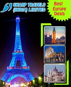 Bollywood has surely filled our dreams with the desires to do a Europe tour, you can gift your family a Europe tour now by booking Europe tour packages from Ahmedabad. Europe Tourism, Honeymoon Packages, Tourist Places, Group Tours, Ahmedabad, Bollywood, Packaging, Dreams, Explore