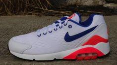 NIKE AIR 180 EM WHITE/SOLAR RED-ULTRAMARINE #sneaker