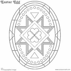 Pysanky Patterns And Designs Coloring Pages