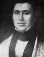 Rev. Jesse Bushyhead - Cherokee - one of the detachment leaders on The Emigration From Georgia (Trail of Tears)