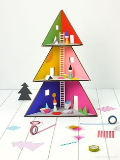 Mr. Printables' DIY Christmas Toy Dollhouse is Made from Cardboard