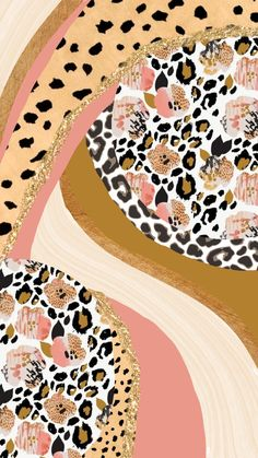 Animal print aesthetic iPhone background