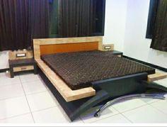 Modern Tv Unit Designs, Modern Tv Units, Box Bed Design, Bedroom Bed Design, Door Design Interior, Bed Designs, Bed Rooms, Home Decor Kitchen, Muhammad