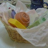 Five Piece All Natural Handmade Soap Gift Basket (Misc.)By Natural Handcrafted Soap LLC