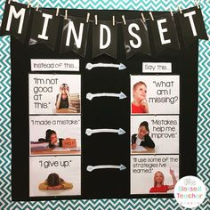 Growth Mindset poster (The Blessed Teacher)