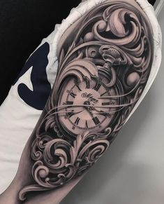 Guys these Tattoos are Better Than Yours Design Uhren Tattoos Vorlagen - Tattoo Uhr - Tattoo Upper Arm Tattoos For Guys, Cool Tattoos For Guys, Trendy Tattoos, Black Tattoos, New Tattoos, Mens Upper Arm Tattoo, G Tattoo, Zeus Tattoo, Samoan Tattoo