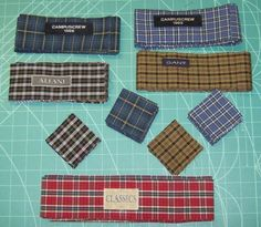 Seven shirts quilt - also includes instructions for cutting up old shirts